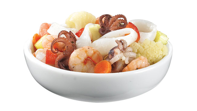 Marinated Seafood Salad Image