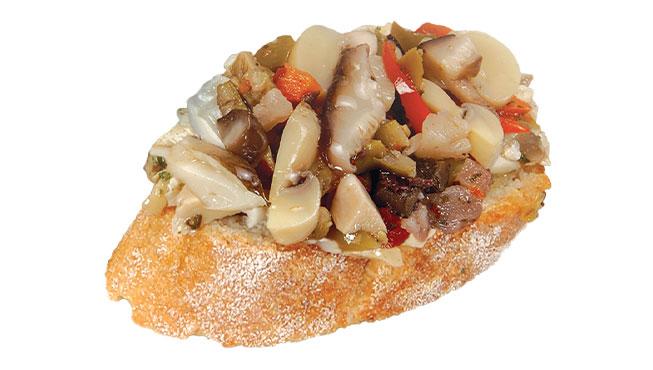 Mushroom Bruschetta Image