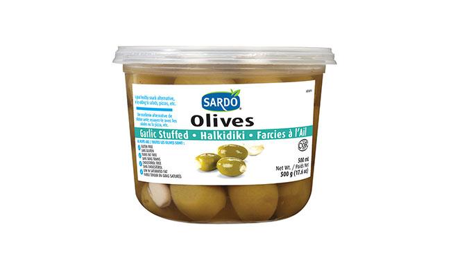 Garlic Stuffed Olives Image