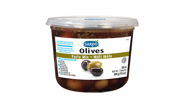 Whole Party Mix Olives 500 mL