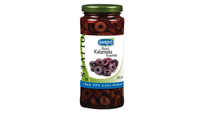 Sliced Kalamata Olives 375 mL