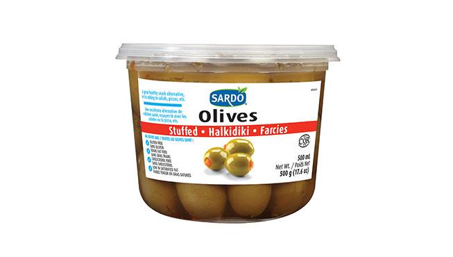 Stuffed Green Olives Image