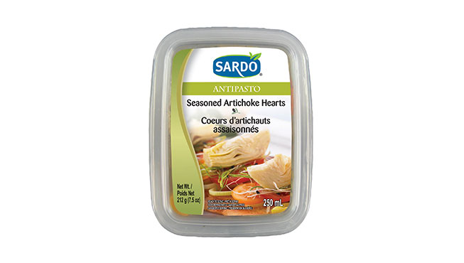 Seasoned Artichoke Hearts Image