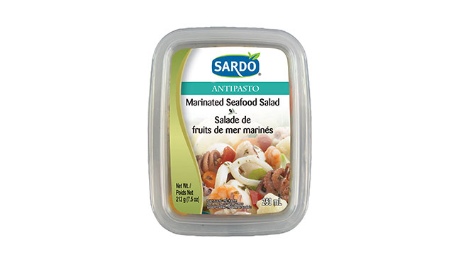 Marinated Seafood Salad 250 mL