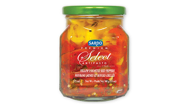 Yellow & Roasted Red Peppers 360 g
