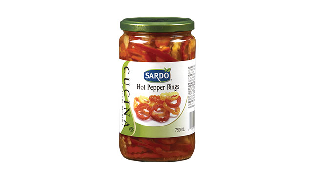 Hot Pepper Rings 750 mL