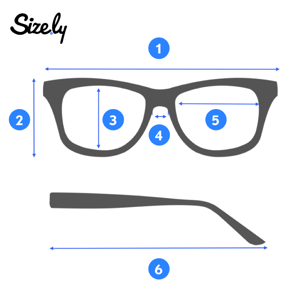 image of glasses for measurement