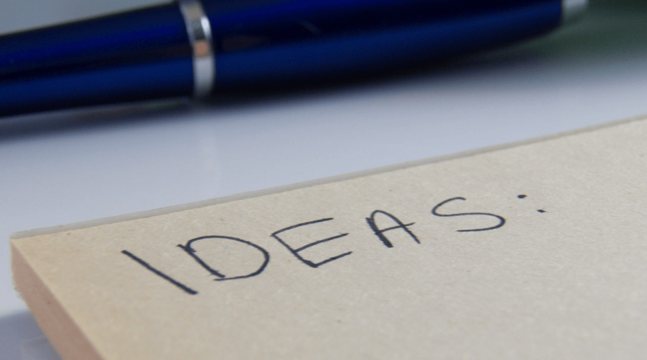Selling ideas board