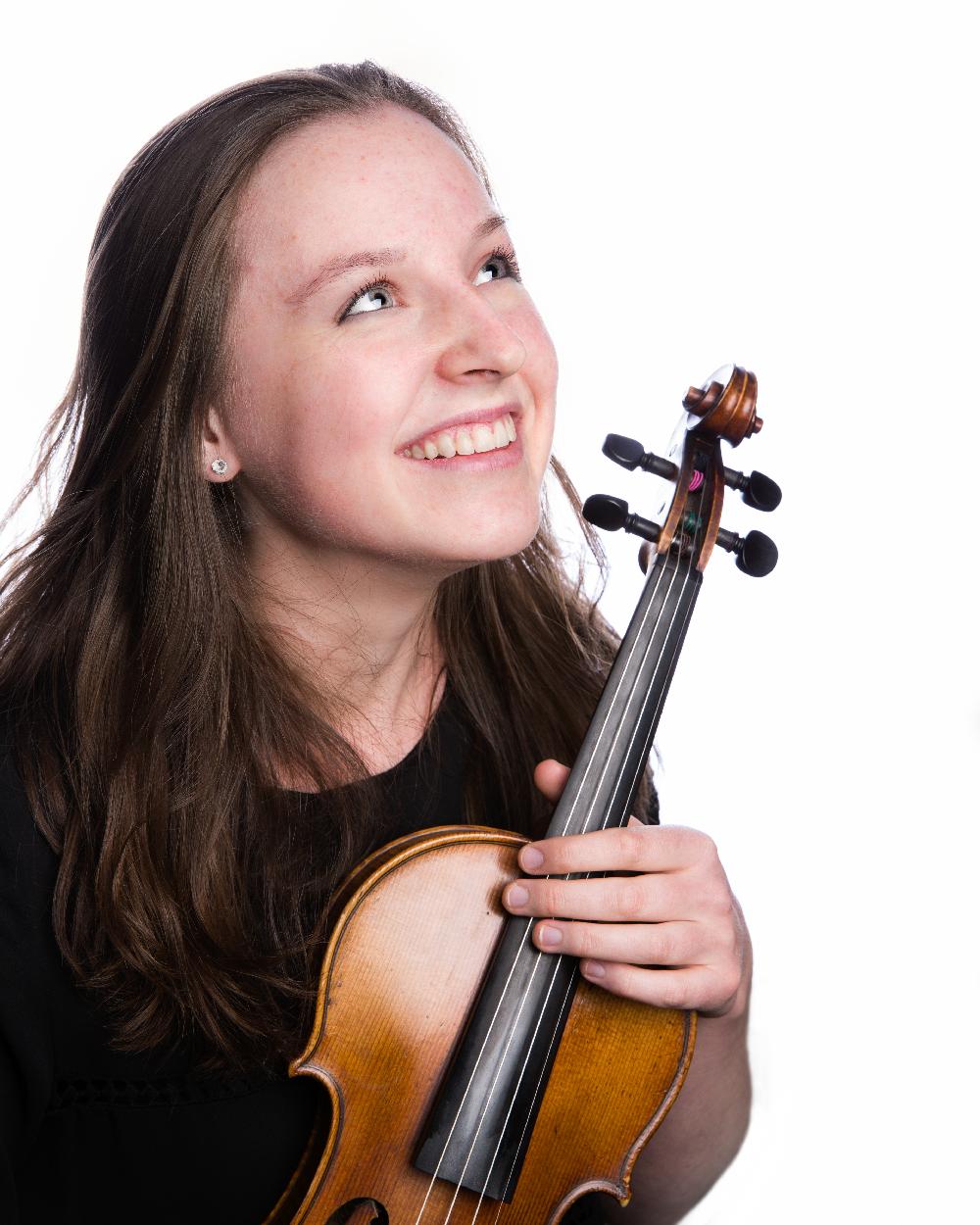 Amadeus Orchestra Leader Madeleine Pickering