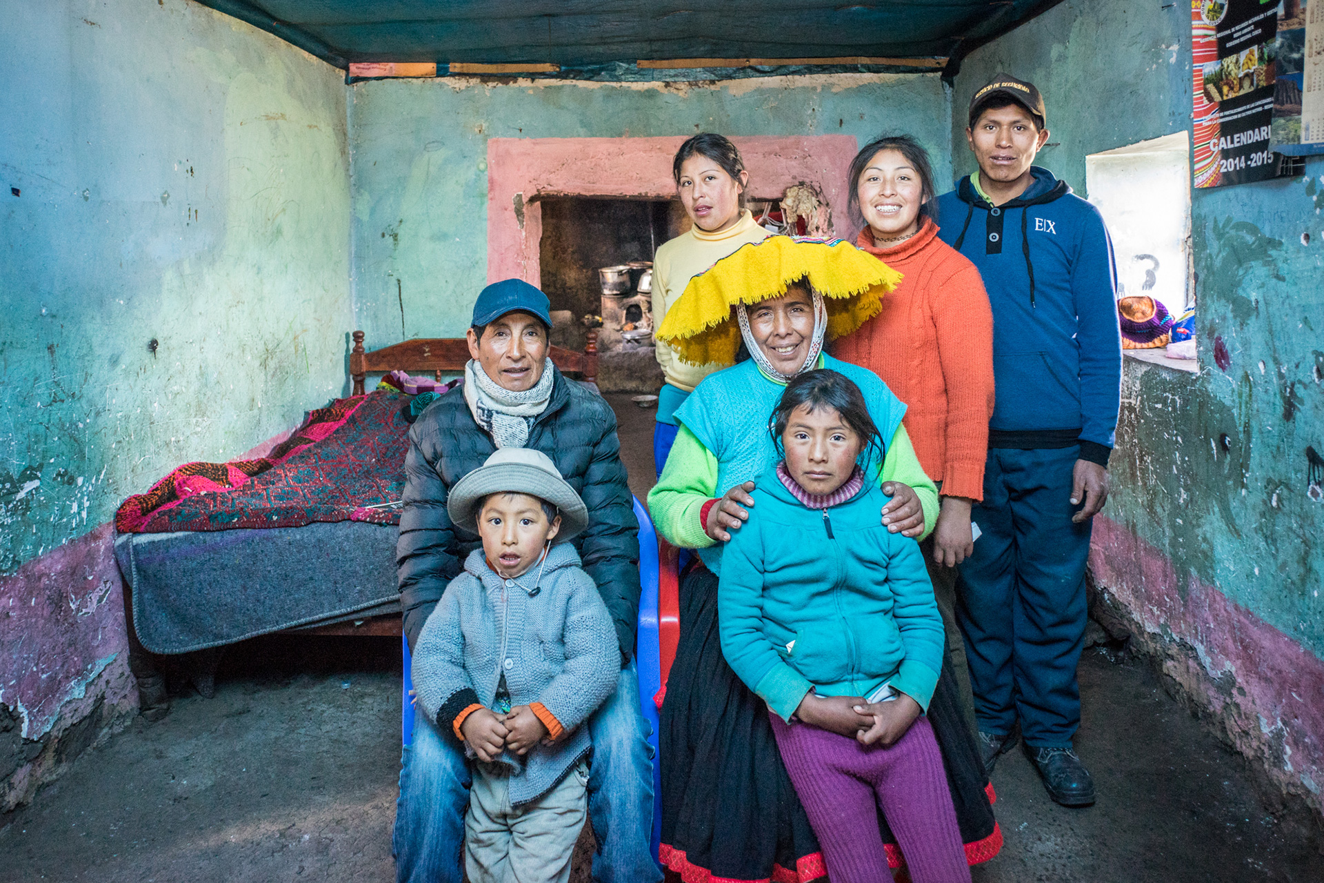 Peru Family Portrait