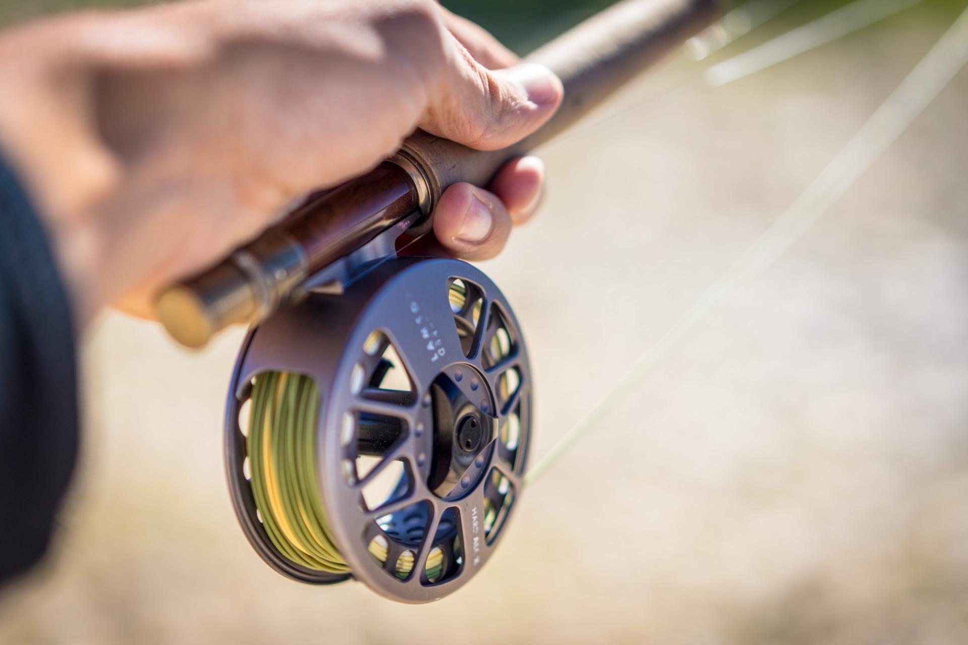 Fly Fishing Rod Reel Casting