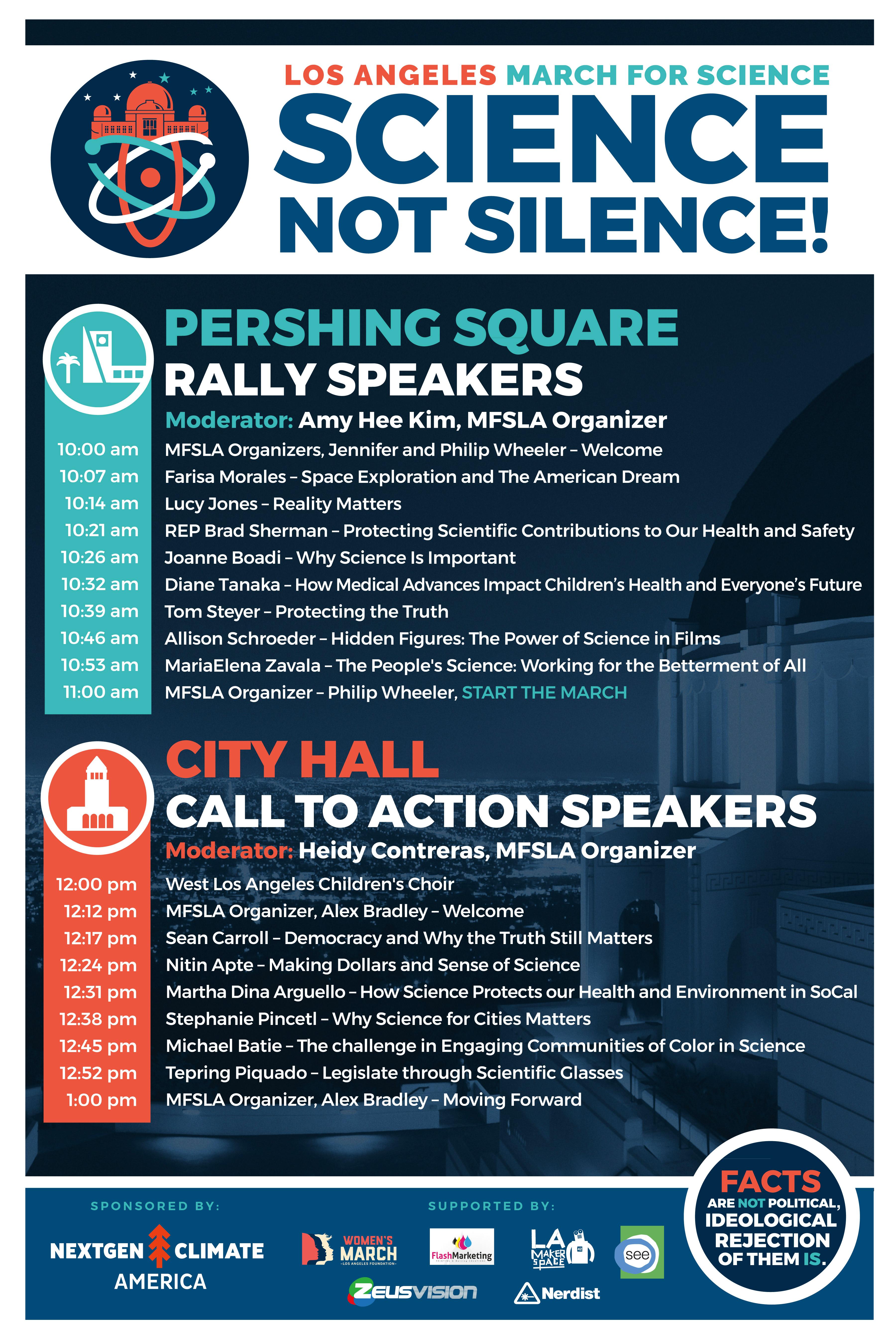 March for science la speakers download speakers program xflitez Choice Image