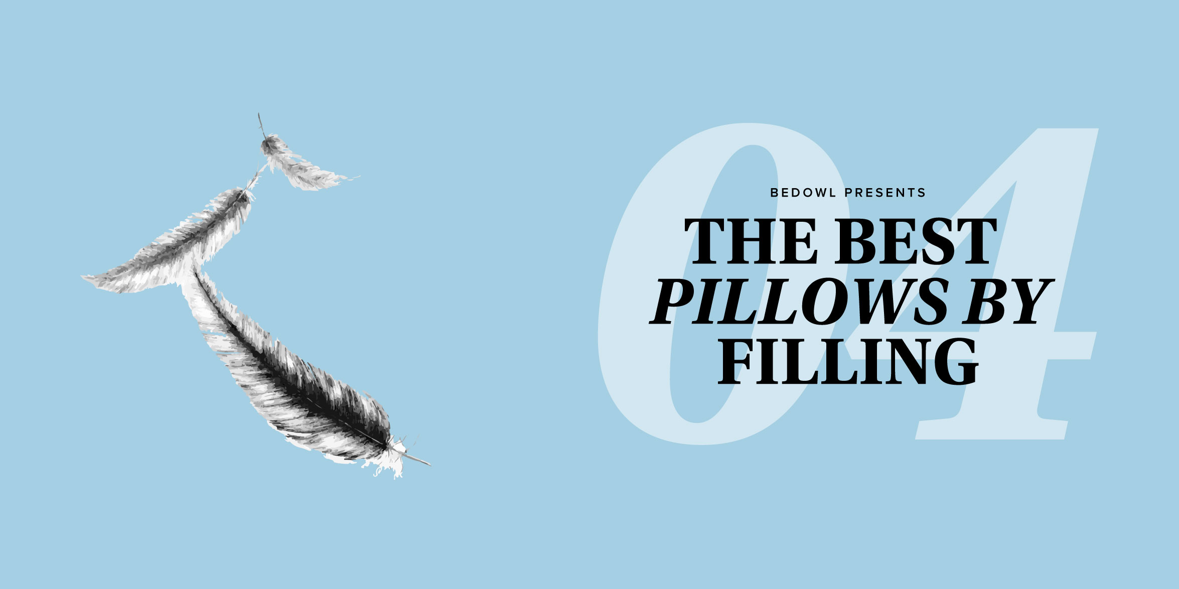 Top Bed Pillows by Filling from Bedowl