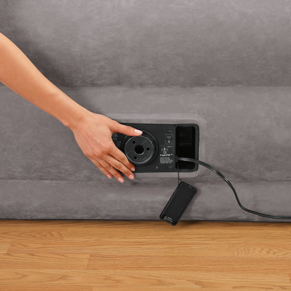Intex Comfort Plush Elevated with Built-in Air Pump