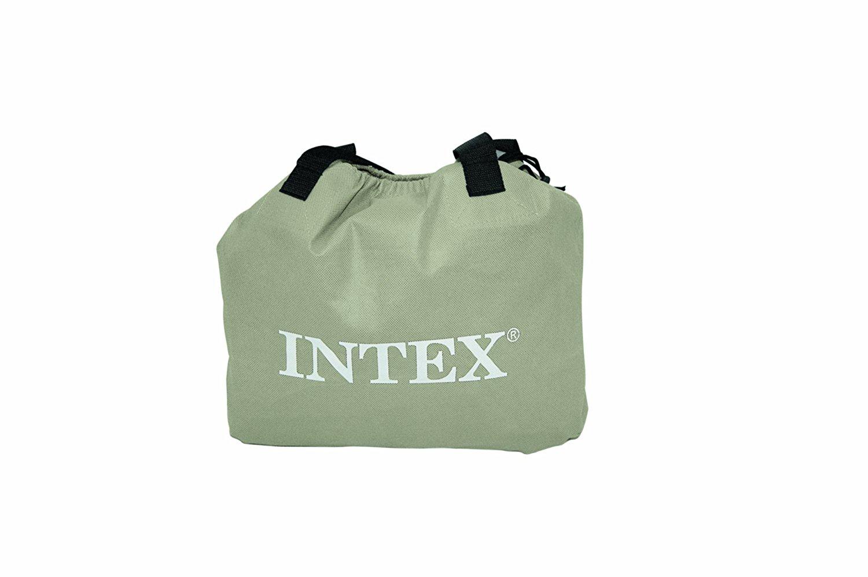 Intex Pillow Rest Raised Air Mattress Carry Bag