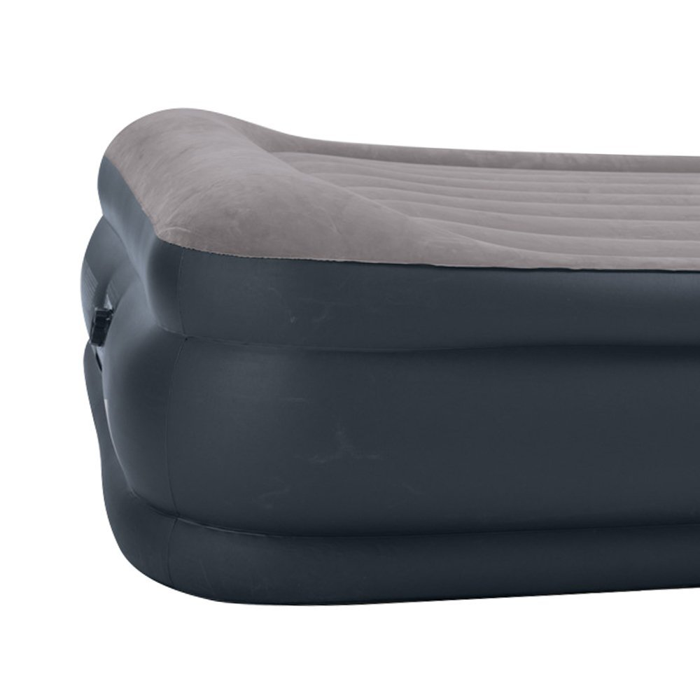 Intex Deluxe Pillow Rest Raised Pillow Top