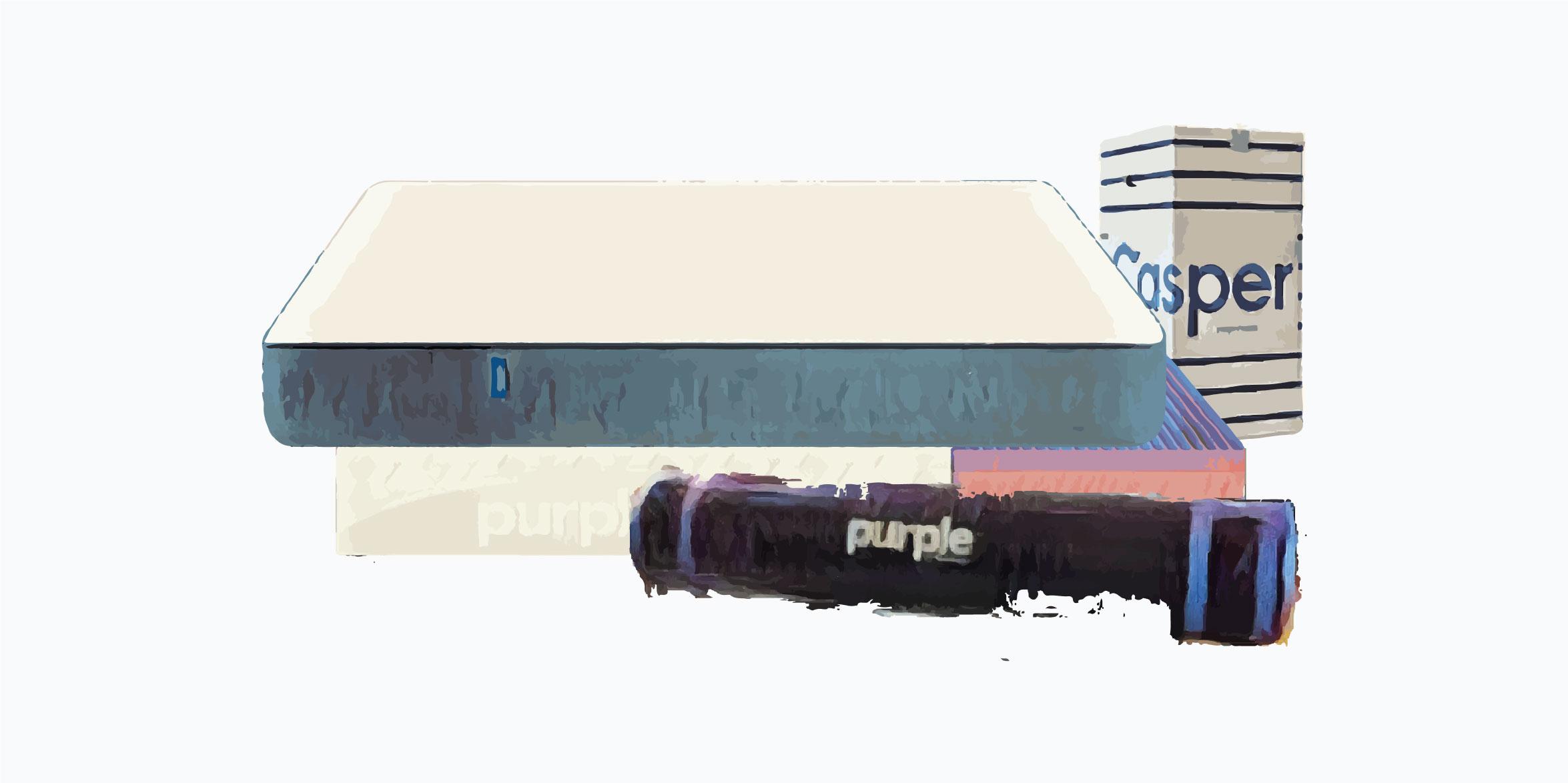 Casper vs. Purple
