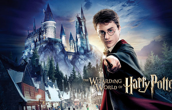 Harry Potter At Universal Studios Hollywood Ad