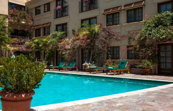 Best Western PLUS Sunset Plaza Courtyard
