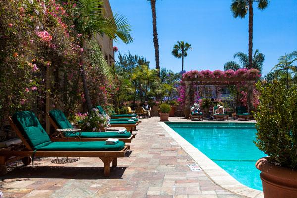 Best Western PLUS Sunset Plaza Courtyard Poolside