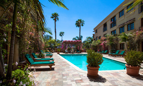 Best Western PLUS Sunset Plaza Courtyard and Poolside