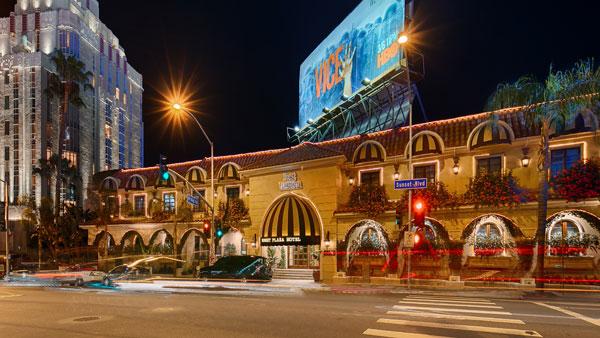 Best Western PLUS Sunset Plaza Exterior Street View