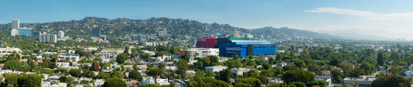 West Hollywood Aerial View