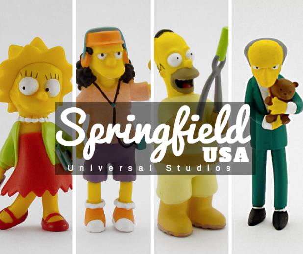 what to do in Springfield Universal Studios