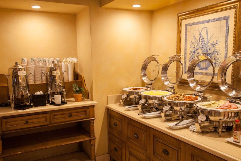 Best Western Sunset Plaza Breakfast Buffet