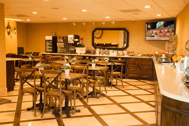 Best Western Sunset Plaza 2nd Breakfast Room