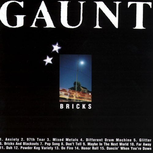 013 Bricks and Blackouts by Gaunt