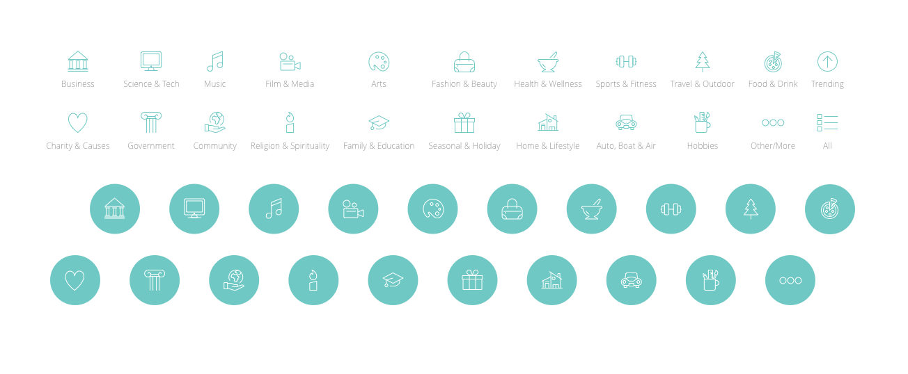Meetly Icons