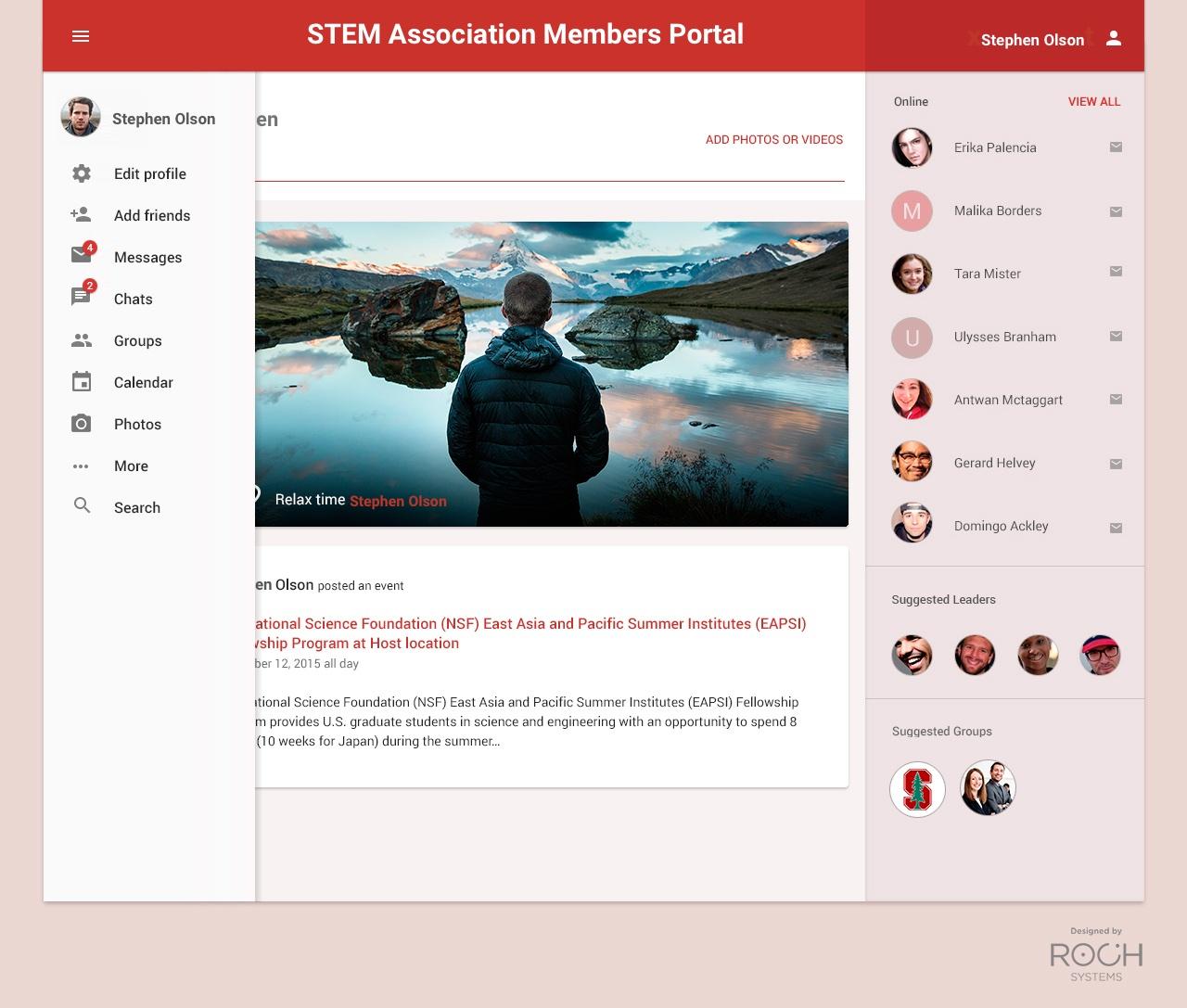 STEM- Association Members Portal