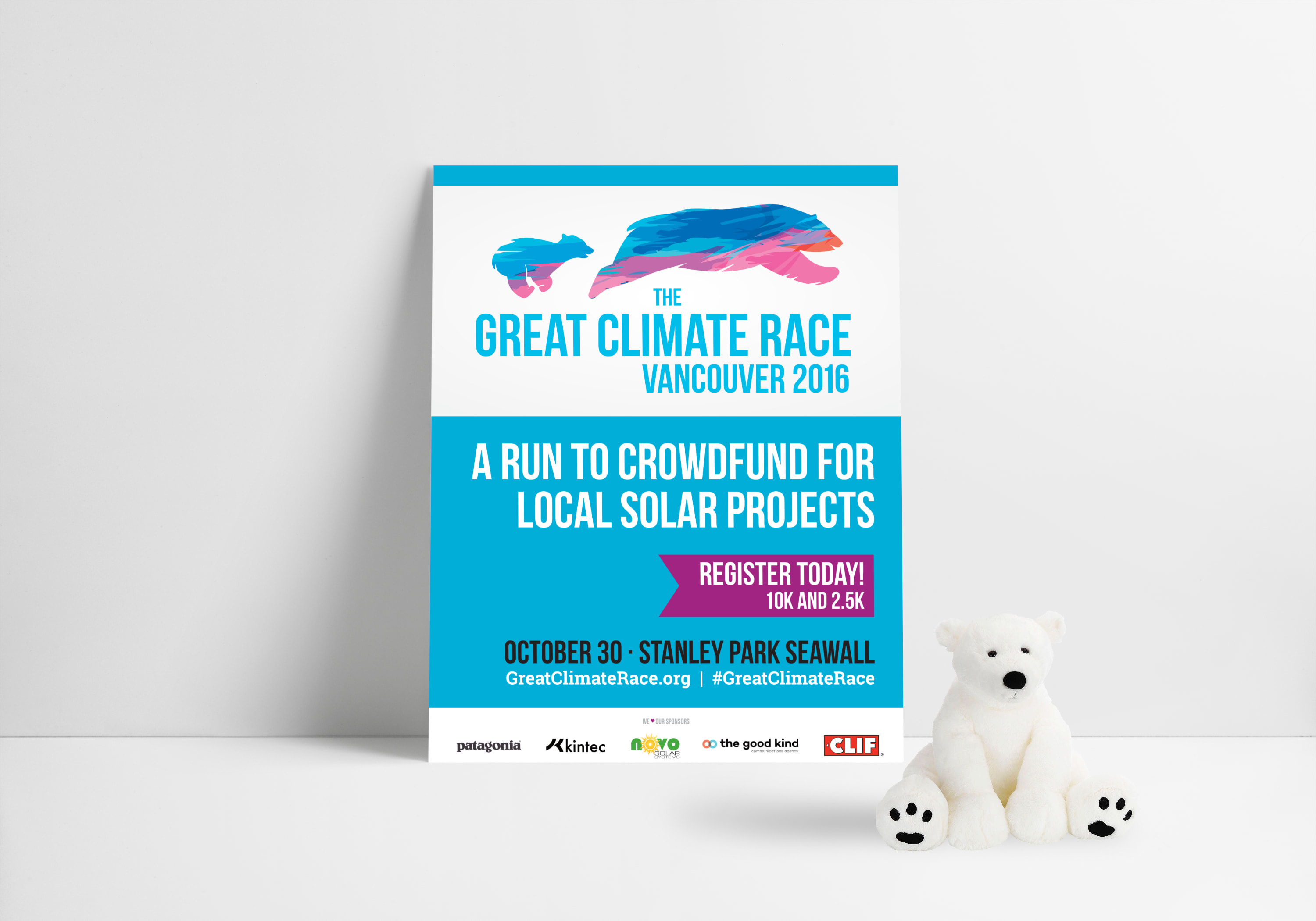 After just 2 years and over $50,000 raised for clean energy projects, the Great Climate Race is one of Vancouver's most enjoyed race events. The race pulls a diverse crowd of hardcore runners as well as families with kids, racing to raise money to fund solar energy projects.A unique event in its own right.