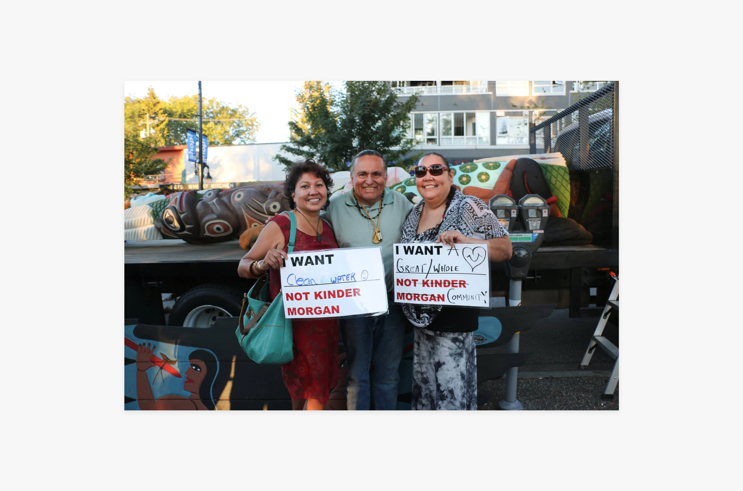 The Sacred Trust is an initiative from the Tsleil-Waututh Nation mandated to stop the Kinder Morgan Trans Mountain pipeline & tanker project.