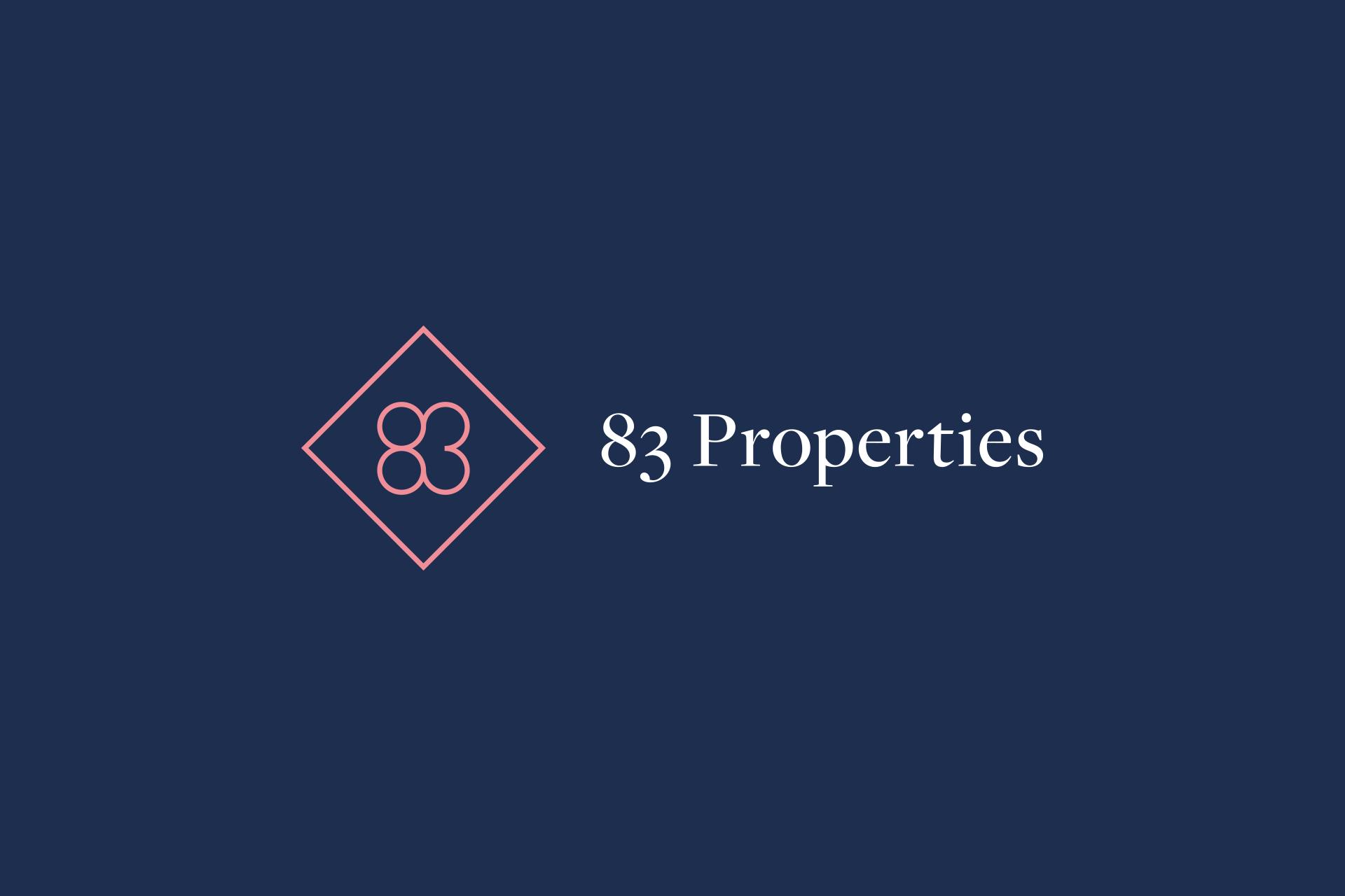 83 Properties Brand Identity