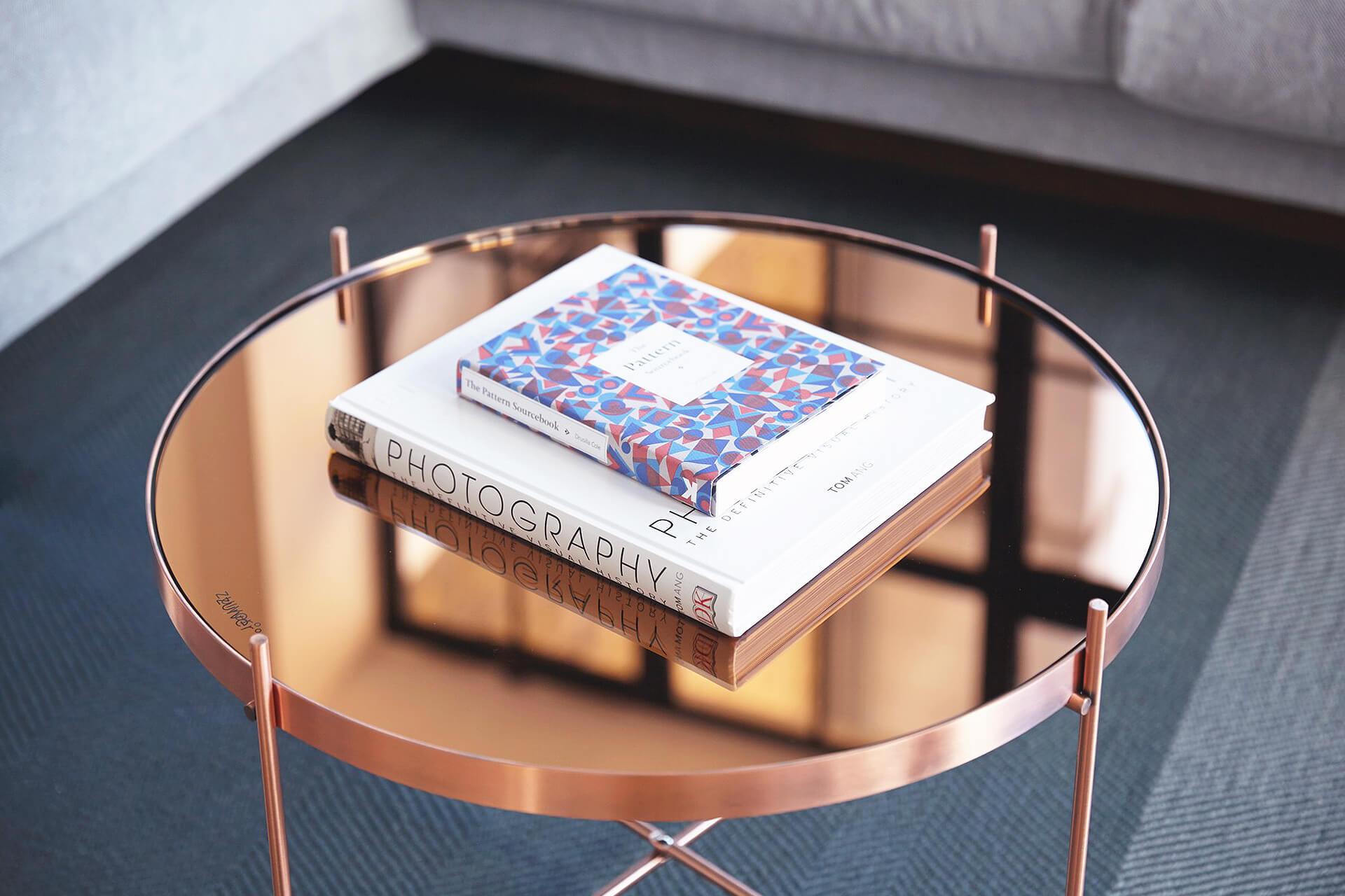 83 Properties Copper coffee table
