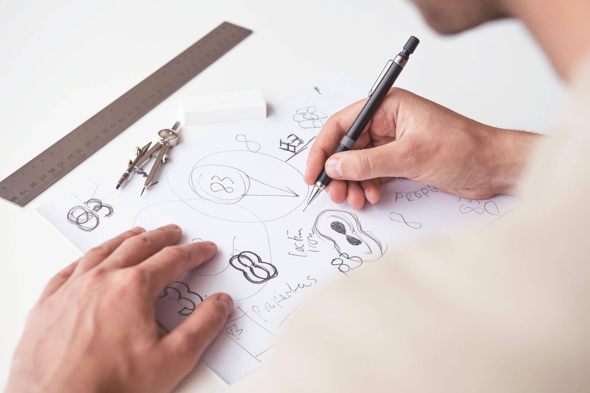 83 Properties Logo Design Sketches