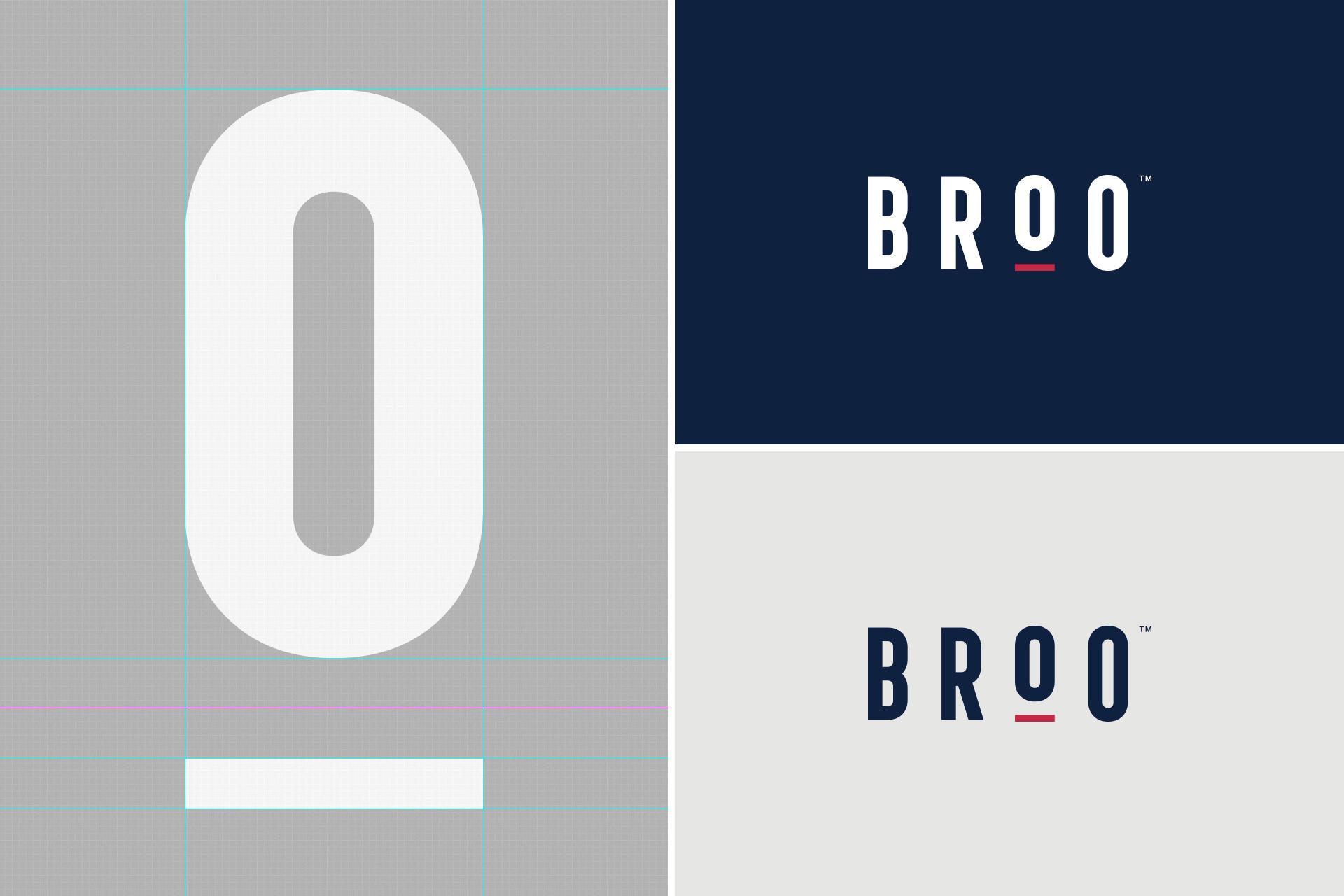 Broo Logo Design Details