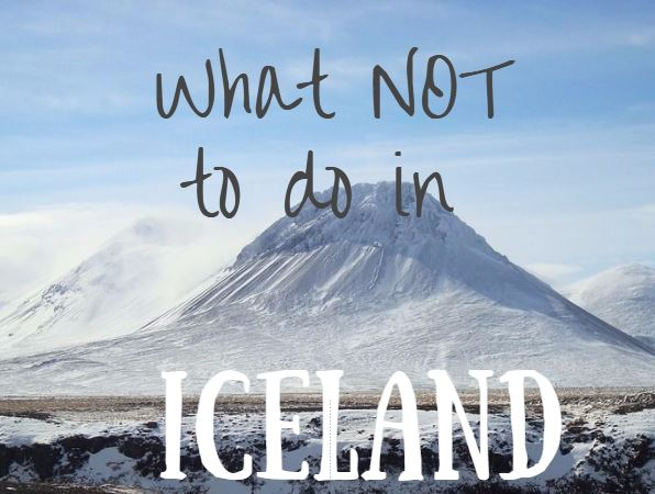 tips on traveling to iceland