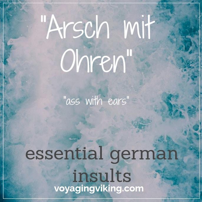insults in german