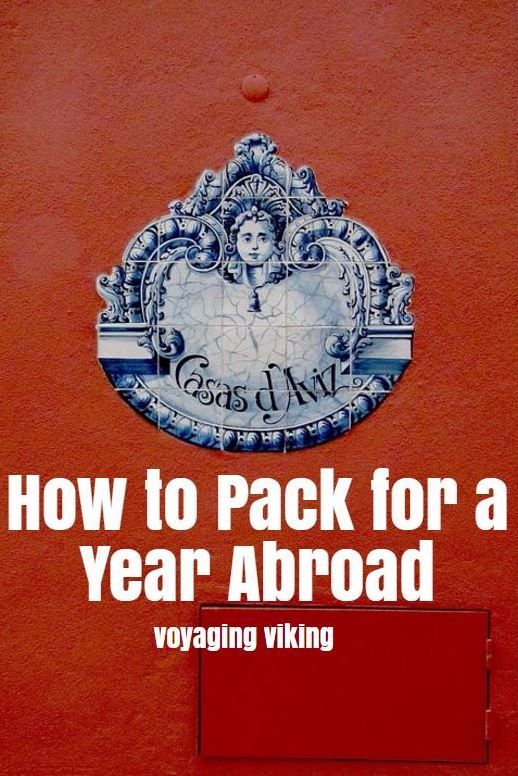| Voyaging Viking | How to Pack for a Year Abroad