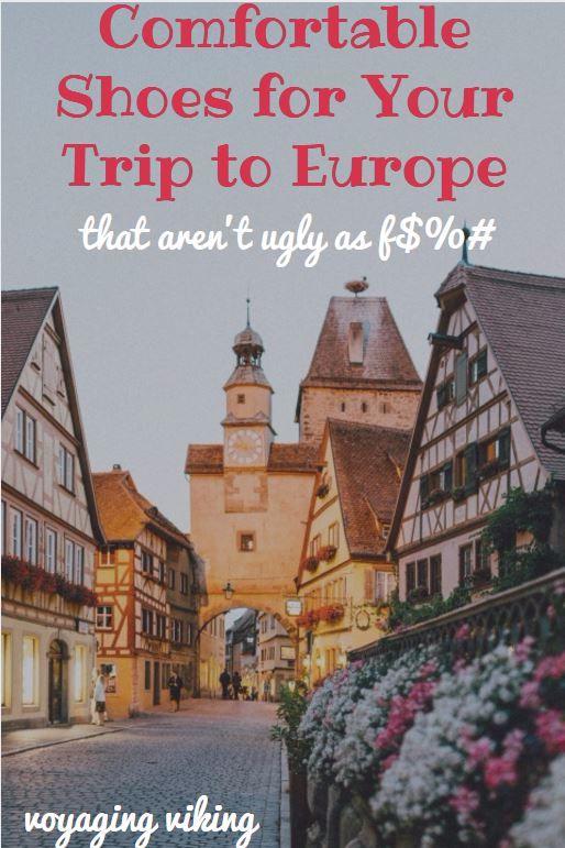 | Voyaging Viking | Comfortable Walking Shoes for Your Trip to Europe