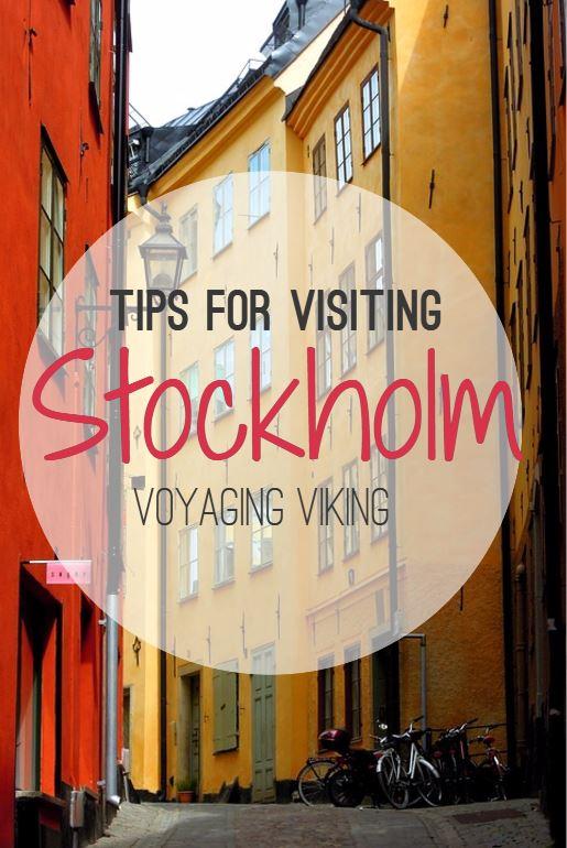 | Voyaging Viking | Tips for Visiting Stockholm Sweden