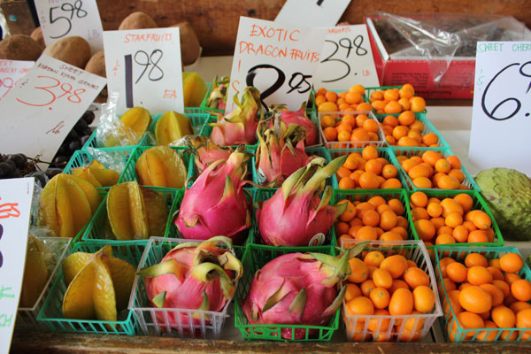 Exotic Fruit - Farmers Market Food & History Tour