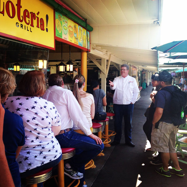 Speaker - Farmers Market Food & History Tour