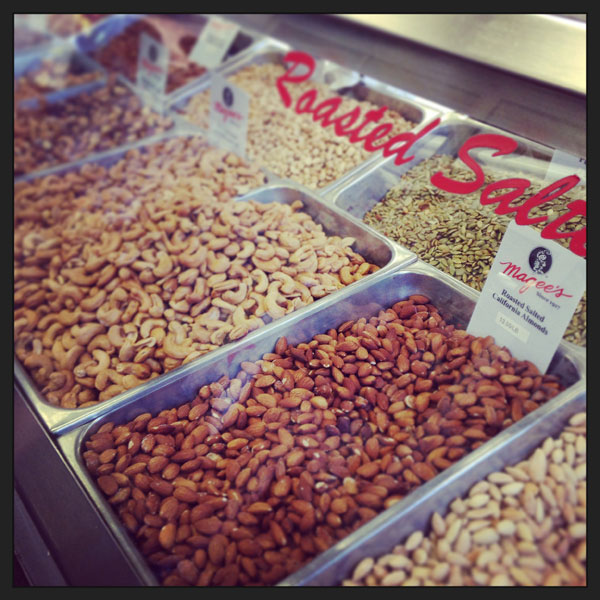 Roasted Salted Nuts - Farmers Market Food & History Tour