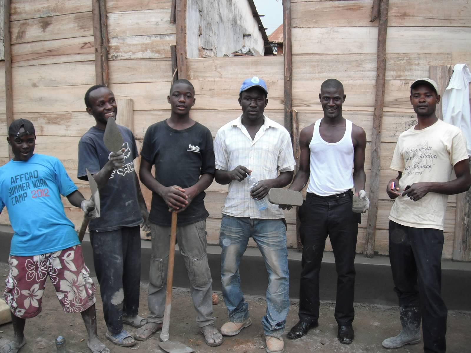 Community involvement at our rebuild