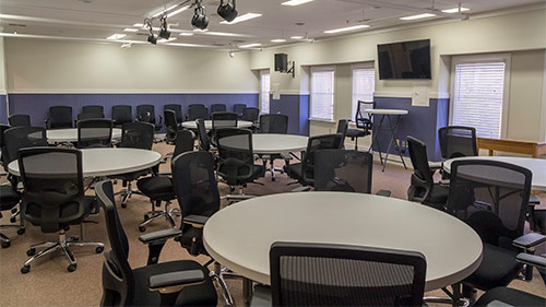 Picture of Conference Room with round tables