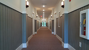 Picture of Residence Dorm Hallway